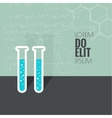 The concept of chemical science research vector image
