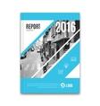 Business flyer brochure template design layout vector image