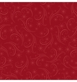 Romantic christmas seamless background vector image
