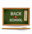 Welcome back to school with blackboard vector image