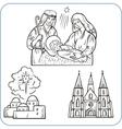 Biblical scene - vector image vector image