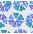 seamless hand drawn geometric pattern vector image
