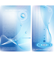 two business backgrounds vector image