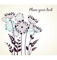 Dandelions flowers vector image vector image