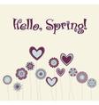 cute flower vector image