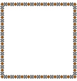 Simple geometric ethnic frame variation1 vector image