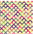 seamless circular abstract pattern vector image