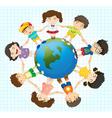 Global diversity vector image