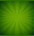 green burst poster vector image vector image