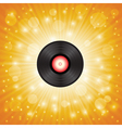 music shellac vector image