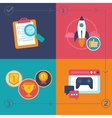 gamification process vector image