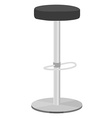 Bar stool vector image