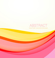 beautiful colorful wave background with soft vector image