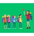kids summer camp vector image