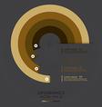 Modern Curve Design Template vector image