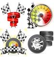 Racing Concepts vector image vector image