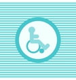 Invalid color flat icon vector image