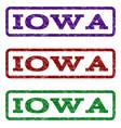 iowa watermark stamp vector image