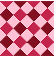 Pink Red Purple Diamond Chessboard Background vector image