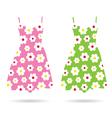 dresses color vector image