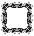 Black frame vector image