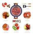 BBQ Infographics vector image