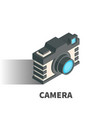 Camera icon symbol vector image