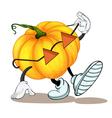 a pumpkin vector image vector image