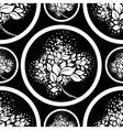 seamless tree pattern 07 vector image