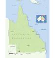 Australia Queensland vector image