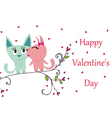 happy valentines day CATS vector image