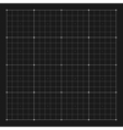 grid marking for user HUD interface vector image
