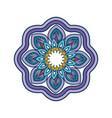 mandala spiritual symbol vector image