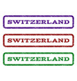 switzerland watermark stamp vector image