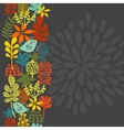 Seamless vertical pattern with bird in crown vector image