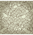Hand drawn background with trees vector image