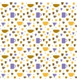 Coffee pattern 1 vector image