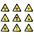 Hazard Sign vector image
