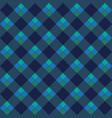 blue argyle seamless pattern vector image