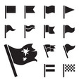 flag icon set isolated vector image