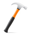 tool hammer 01 vector image