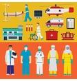 Hospital - Doctors vector image