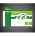 business website vector image