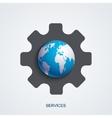 modern service background vector image