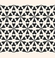 seamless pattern geometric triangular grid vector image