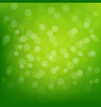 green glitter background vector image