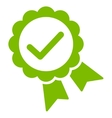 Approved icon from Competition  Success Bicolor vector image