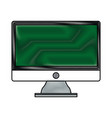 drawing screen computer device technology vector image