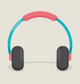 earphone vector image