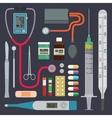 Hospital - Medical Instruments vector image